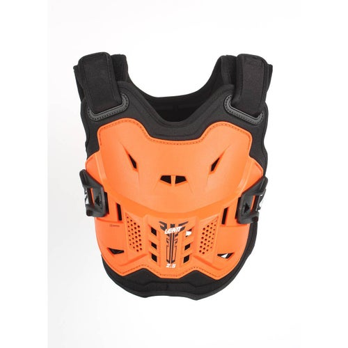 Leatt Kids MX and Enduro Chest Protector 2.5 Body Protection - Orange Black