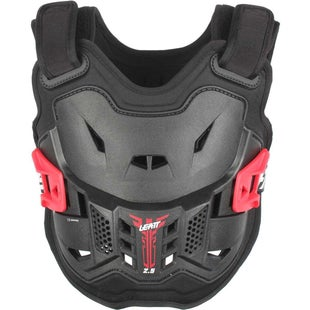 Leatt Kids MX Motocross and Enduro Chest Protector 25 Torso Protection - Black Red