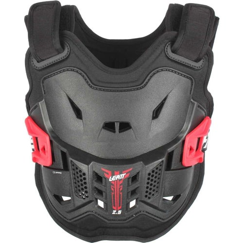 Leatt Kids MX and Enduro Chest Protector 2.5 Body Protection - Black Red