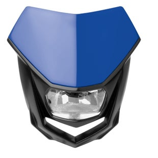 Polisport Plastics Motocross and Enduro Headlight Halo Blue YAM98 Front Light - Blue