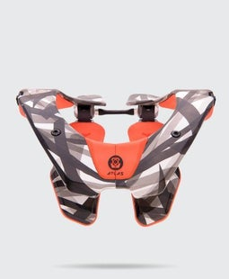 Atlas AirBrace Neck Brace - Orange Laser
