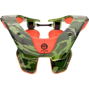 Atlas AirBrace Neck Brace - Camo Orange
