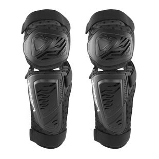 Leatt 3.0 EXT Knee Shin Guards Kniebeschermer - Black