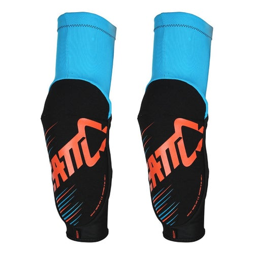 Leatt 3DF 5.0 Elbow Guards Elbow Protection - Blue Orange