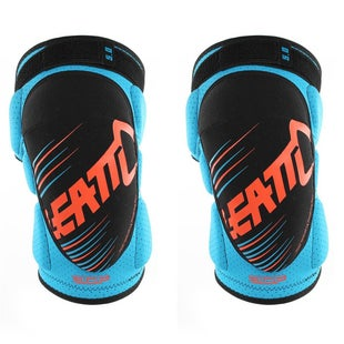 Leatt YOUTH 3DF 50 Knee Guards Knee Protection - Blue Orange