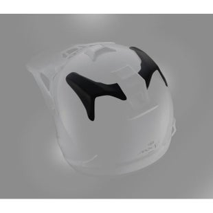 Arai Spare Centre Side Vent MX Helmet Accessory - V Black (1 Pair)