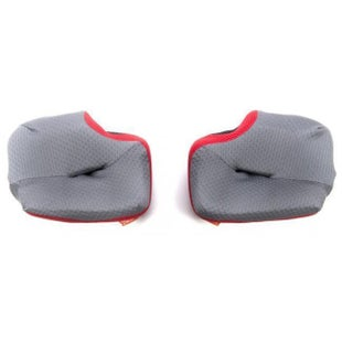 Arai Spare Cheekpad MX Helmet Accessory - V GRY 25 MM S M