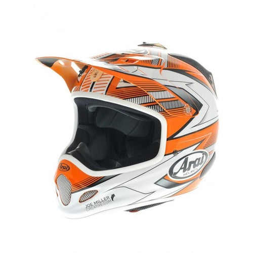 Arai Spare Peak VX3 Nitrous Orange Helmet Peak - PEAK ONLY