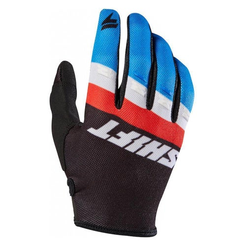 Shift SMX 3LACK LABEL Air Motocross Gloves - Blue