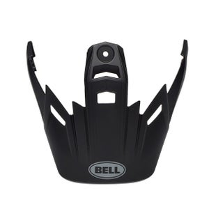 Bell 9 Adventure Peak MX Helmet Peak - 9 Adventure Peak Solid Matte Black