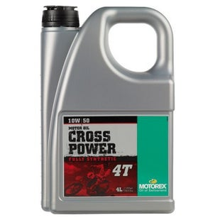 Motorex Crosspower Synth 4T 10/50 1 Litre MA2 Engine Oil - 4 Litres