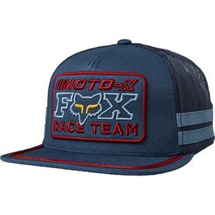 Fox Racing Intercept Snapback Cap - Navy