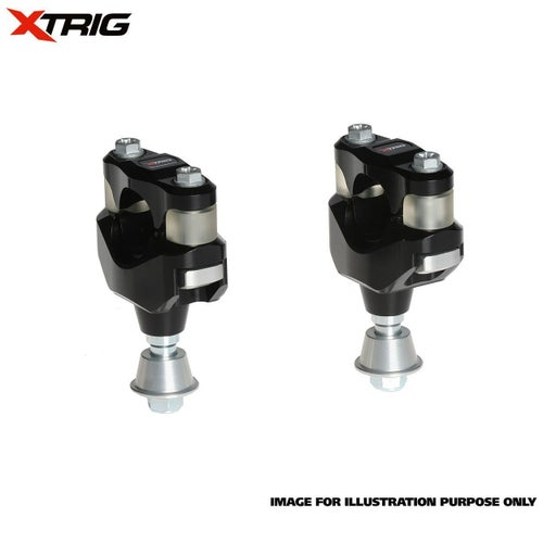 XTrig Bar Mount Kit OEM PHDS Rubber KTM Husqvarna 16 Bar Mount Kit - 18 Size 28.4mm Bar Diameter