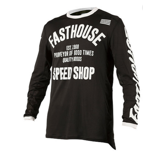 Fasthouse Jersey Motocross Jerseys - Black