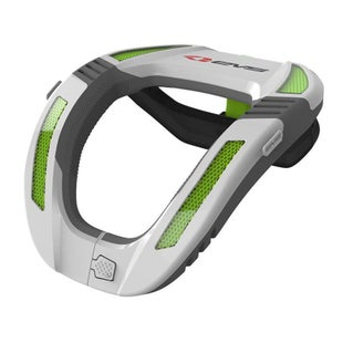 EVS YOUTH R4K Koroyd Neck Protector Neck Brace - White Green