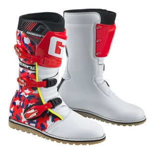 Gaerne Boots Camo Red Trials Boots - Camo Red