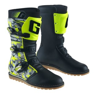 Gaerne Boots Camo Yellow Trials Boots - Camo Yellow