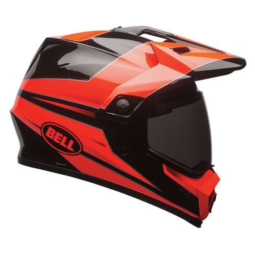 Bell Mx-9 Mips Adventure Helmet - Stryker Flou Orange
