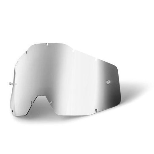 100 Percent Accuri Racecraft Strata MX Goggle Lens - Mirror Silver