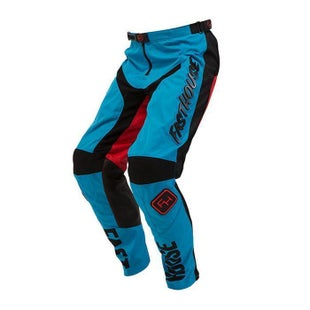 Fasthouse Grindhouse Youth Motocross Pants - Electric Blue