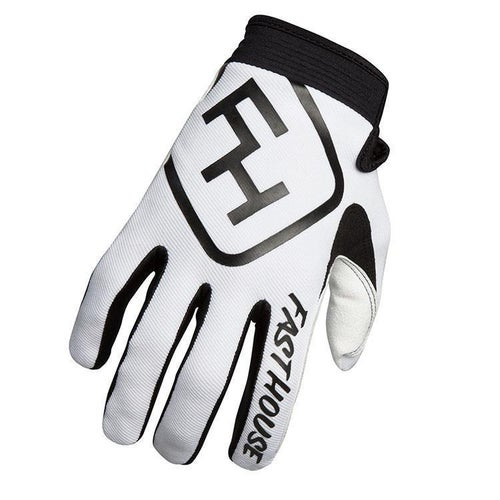 Fasthouse Speed Style Motocross Gloves - White