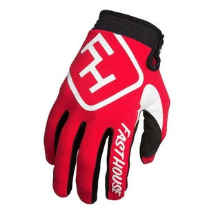 Fasthouse Speed Style Motocross Gloves - Red