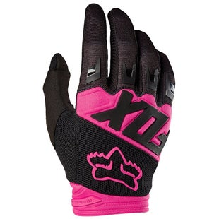Fox Racing Dirtpaw Race Motocross Gloves - Black Pink