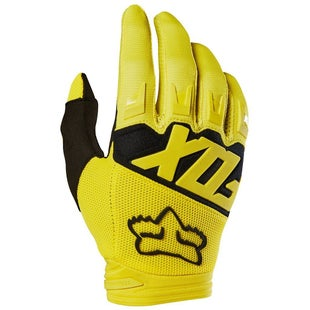 Fox Racing Dirtpaw Race Motocross Gloves - Yellow