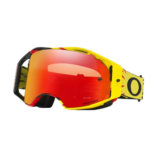 Oakley Airbrake High Voltage Motocross Goggles - Prizm Torch Iridium Lens
