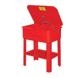 Dirtbikebitz Motocross Workshop Parts Cleaning Bath Tool Box - Red