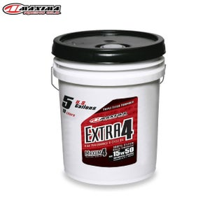 Maxima 4T Extra 4 100 Ester Synthetic Oil SAE 15w50 19 Litre Engine Oil - T Extra 4 100% Ester Synthetic Oil (SAE 15w50) 19 Litr