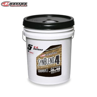 Maxima 4T Syn Blend 4 Ester Synthetic SAE 10w40 19 Litre Engine Oil - T Syn Blend 4 Ester Synthetic (SAE 10w40) 19 Litre