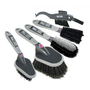 Muc Off Bike Brush Set Cleaning - 5 Brushes
