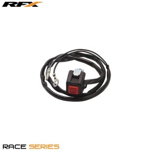 RFX Race Kill Button OEM Replica Suzuki RM80 85 89 MX Switch - Black