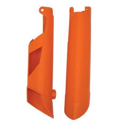 Polisport Plastics Fork Guard KTM SX 08 Lower Fork Guard - Orange