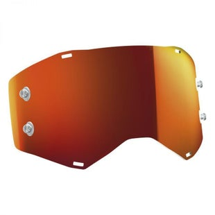 Scott Sports Prospect Replacement Goggle TearOff Lens Motocross Goggle Lense - Orange Chrome
