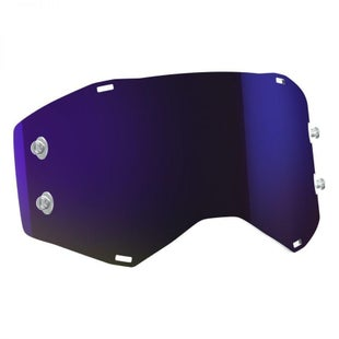 Scott Sports Prospect Replacement Goggle TearOff Lens Motocross Goggle Lense - Purple Chrome