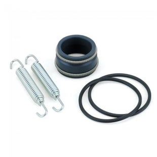 Bolt Hardware Yamaha Exhaust Pipe Seal Kit YZ125 01 Exhaust Seal Kit - Black