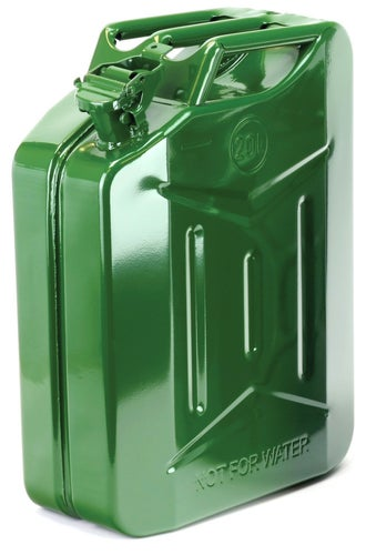 Fuel Can And Refueling Dirtbikebitz Dirtbikebitz Motocross and Enduro Steel Fuel Jerry Can - 20L