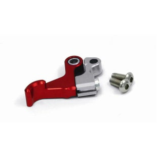 Zeta Optional Hot Start Lever For Pivot Clutch Lever Set Rotator Clamp - Red