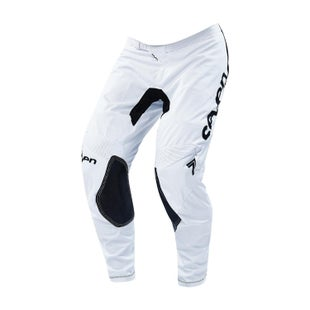 Seven 19.1 Annex Staple Motocross Pants - White