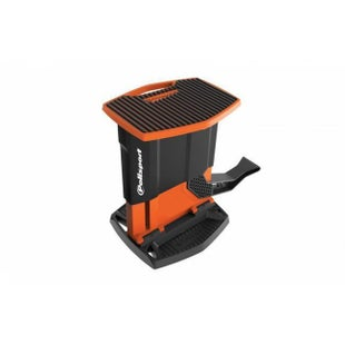 Polisport Plastics Foldable Pit Lift Bike Stand Lift Stand - Black Orange