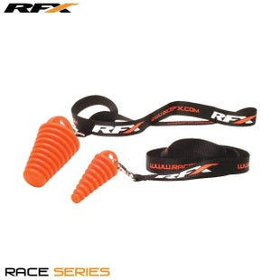 RFX Race Exhaust Bung 2 Stroke Includes Lanyard Exhaust Spare - Orange