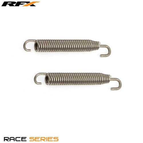 RFX Race Stainless Steel Swivel Exhaust Springs Exhaust Spare - 90mm