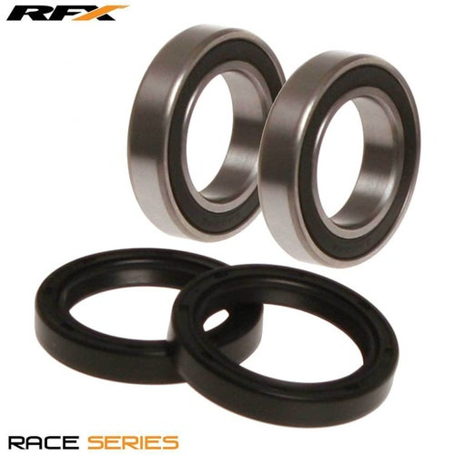 RFX Race SeriesRear Kawasaki KX125 250 97 Wheel Bearing Kit - Black
