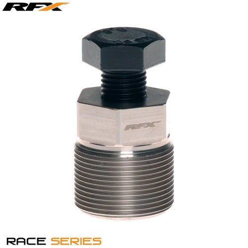 RFX Race Series Flywheel Puller External RH M30xP15 Scorpa 11 Engine Tool - Black