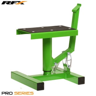 RFX Pro Single Pillar Lift up Lift Stand - Green