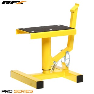 RFX Pro Single Pillar Lift up Lift Stand - Yellow