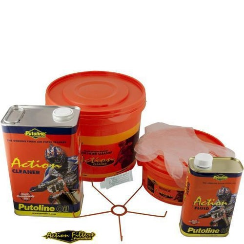Putoline Action Kit Cleaner and Air Filter Oil - Action Kit