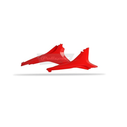 Polisport Plastics Upper Side Panel Honda CRF450 09 Side Panel Plastic - 12 Red 04